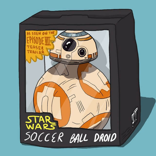 Star Wars - Soccer ball droid